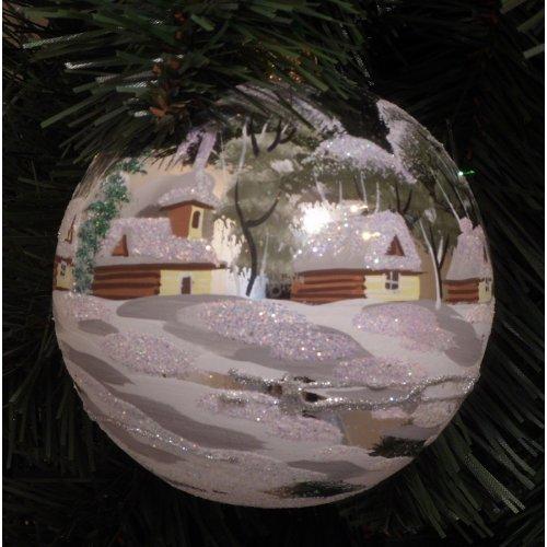 Vianočná  guľa Sll -...