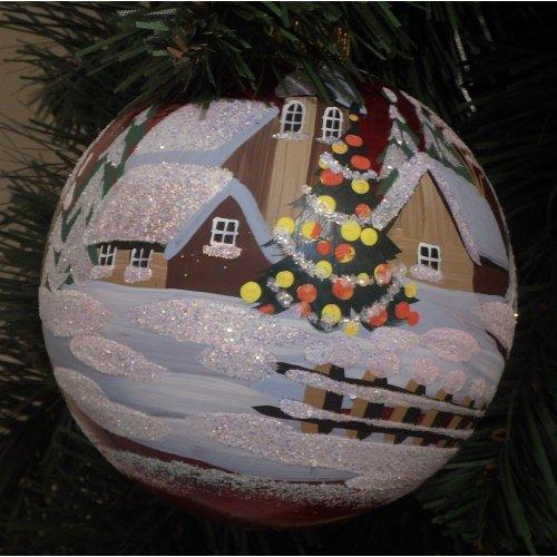 Vianočná  guľa Cl -...