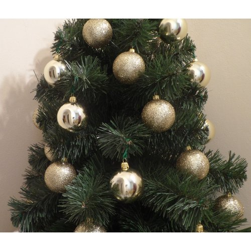 Vianočné gule Ø 6 cm 8 ks -...