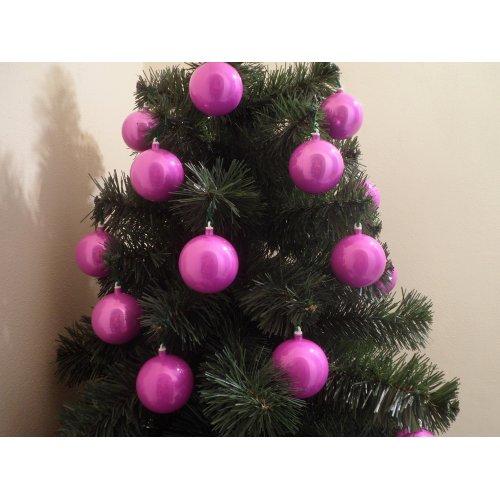 Vianočné dúhové gule Ø 6 cm...