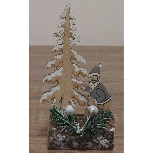 Drevená dekorácia - Stromček