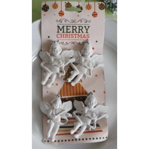 Vianočná ozdoby -anjelici v...