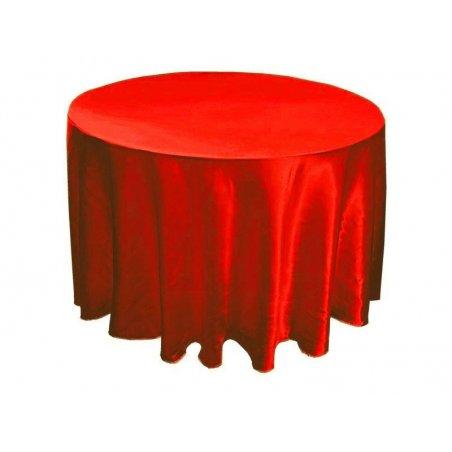 Saténový obrus červená - rôzne rozmery
